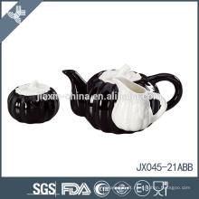 Uso diário de porcelana por atacado abóbora design multa estilo árabe copo de chá conjunto