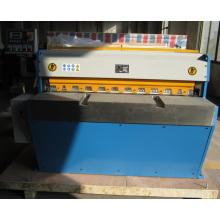 Qh11d-3.5X1250 Hohe Präzision Legierung Aluminiumplatte Guillotine Schermaschine