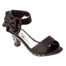 Zapatos baratos al por mayor del alto talón de la alta calidad para los niños