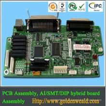 montagem do PWB do controlador da luz solar Fabricação da eletrônica para a placa do amplificador dos auscultadores