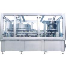 Machine automatique de remplissage et de sertissage de boissons gazeuses à la bière