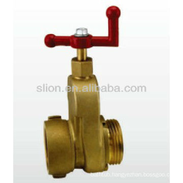 Hydrant gate valve for fire fighting