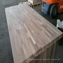 Bancadas de madeira de nogueira americana pura