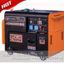 Tragbarer geräuscharmer Dieselgenerator 5kW