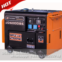 air-cooled diesel generator price 5kva with electric start