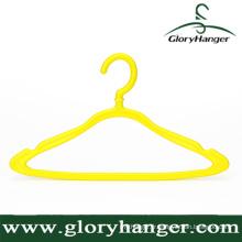 Cintre de vêtements de ménage, Cintre de vêtements en plastique bon marché