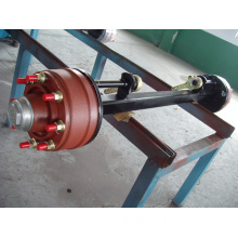 Agriculture Axle 8t Capacity Solid Square Beam