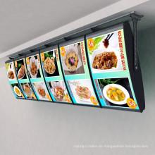 Ultradünne Leuchtkasten für Lebensmittel
