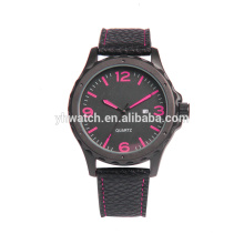 Popular Low-key Men's Quartz Wristwatch Minimalist Connotation Leather Watch