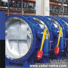 Flansch-Hochleistungs-Hydraulik-Gegengewicht-Absperrklappe