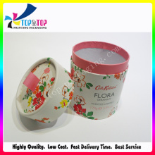 Luxurious Cosmetic Packaging Cylinder Paper Gift Packaging Box
