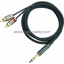 DR serie Dual RCA cavo RCA Jack Stereo