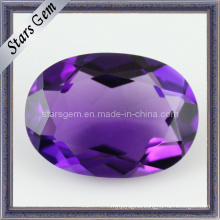 Charming Oval Shape Amethyst Brilliant Cut Natural Amethyst Stone