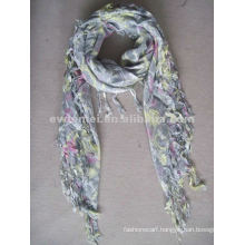Tassels viscose square scarf for sale