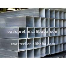 Pesos de tubo de acero galvanizado cuadrado