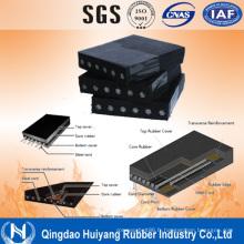Courroie industrielle de convoyeur de corde en acier de la chaleur (ST630-7500)