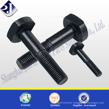 Main product square head bolt Zinc finished square head bolt ASME 5/8 square head bolt