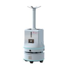 Robot antivirus autonome de pulvérisation de brume pour la pièce