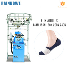 Good brand automatic invisible knitting machine of sock manufacturing equipment price
