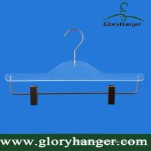 """Custom 14 """"Plastic Bottom Hanger mit verstellbaren Clips"""