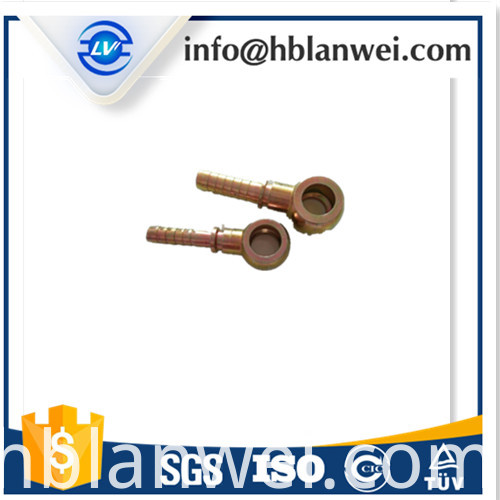 Hydraulic hose fitting