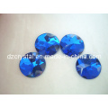 Round Shape Glass Rhinestone