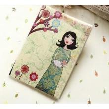 Pegamento cuaderno creativo, cuaderno de dibujos animados suave de la historieta fresca A5 cuaderno