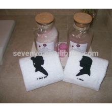 Suas / suas toalhas de mão, toalha orgânica natural de 100%