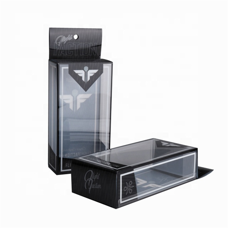 Transparent Window Folding Plastic Custom Box For Apparel