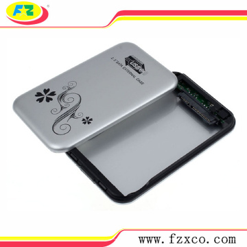 2.5 USB3.0 SATA Aluminum hdd enclosure 2tb