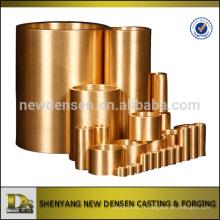Coulée en cuivre personnalisée