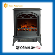 CSA certified master flame artificial wood-burning stove (electric fireplace)