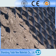 Hot Melt Geocell for Soft Soil Foundation and Steep Slope Protection Road Construction