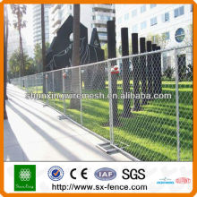 Hot dipped Galvanized or PVC coated Removable Temporary Fence