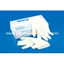 Guantes desechables de examen médico de látex (S, M, L, XL)