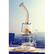 Hochwertige bunte gelbe Ente Rauchen Rohr