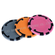 15g 2color Clay Big Size Sticker Chip, Sy-F07-1