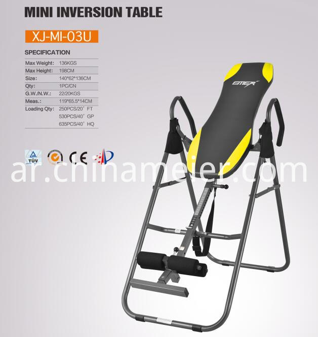 Sculpture Fitness Equipment inversion Table