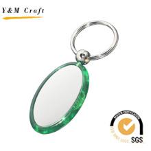 Heißer Verkauf Kunststoff Schlüsselbund mit hoher Qualität (Y03835)