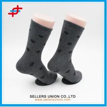 Damen-Frottee-Baumwoll-Niedliche kleine Herzmuster-Massengroßverkauf-Socken