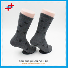 Ladies terry cotton cute little heart pattern bulk wholesale socks