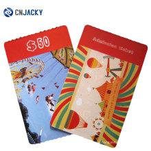 Utl EV1 Chip Paper Card for Amusement Park /RFID Paper Card