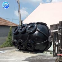 O pára-choque de borracha flutuante pneumático do navio do certificado de GL / BV / CCS
