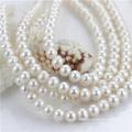 9-10mm off runde Herstellung Preis Süßwasserperle natürliche Perle