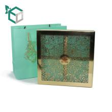 Wholesale FSC graver couvercle boîte d'emballage de thé
