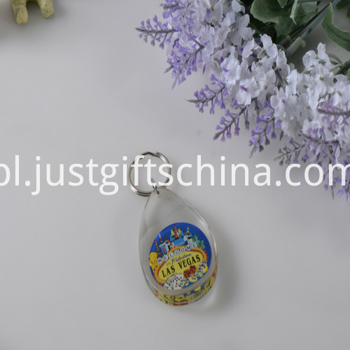 Promotional Acrylic Cap Shaped Keyrings_1