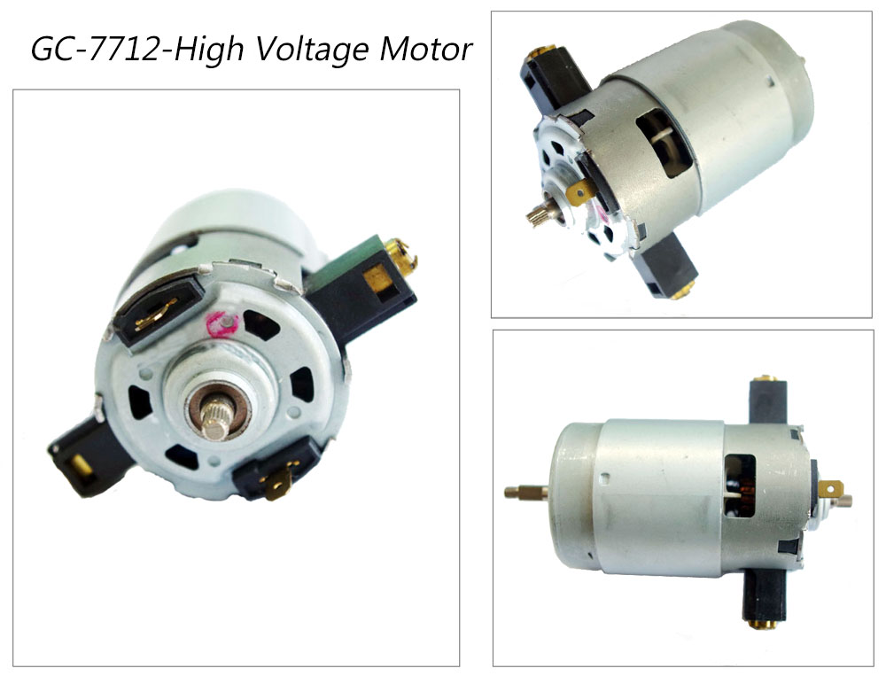 7712 high speed electric motor