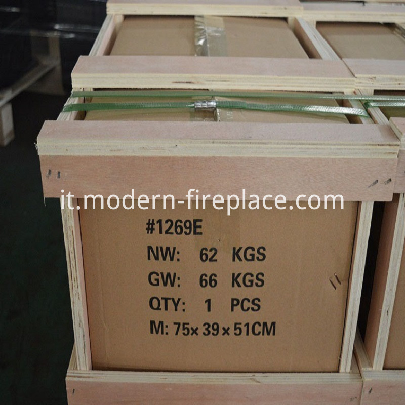 Wood Burning Stove Log Packaging