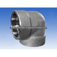 De alta calidad de acero inoxidable Socket Weld Codo 90