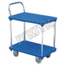 ABS Trolley mit zwei flachen Platten